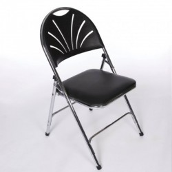 Black Comfort Back Chair