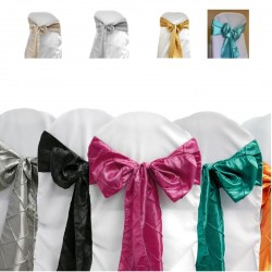 Pintuck  Chair Sashes