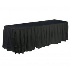 Polyester Table Skirt 15' Long