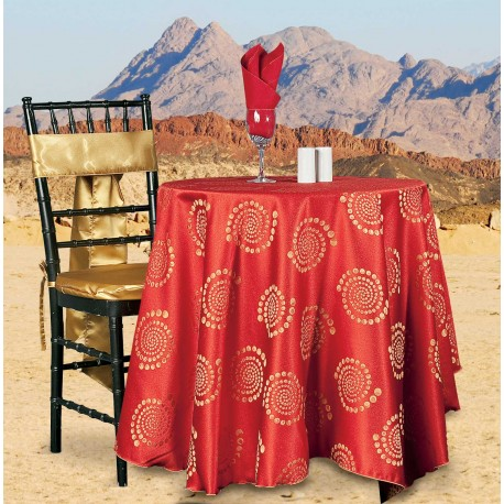 Tablecloth Kaleidoscope Red