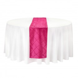 Table Runner Pinktuck Fuchsia