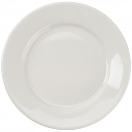 "White Rim China Salad/Dessert Plate 7 ½"""