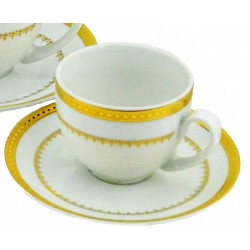 Imperial Gold Demitasse Cup and Saucer
