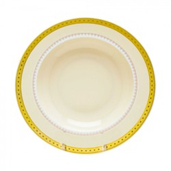 Imperial Gold Soup Plate 8 ½""