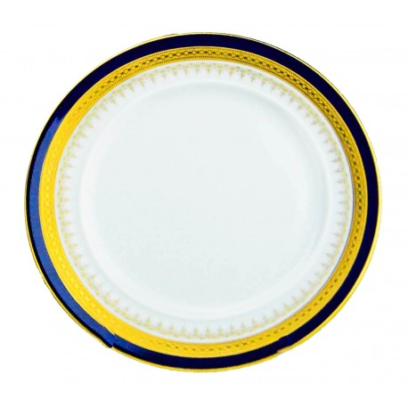 "Windsor Blue Chop Plate 12"""