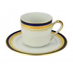Windsor Blue Coffee Cup and Saucer
