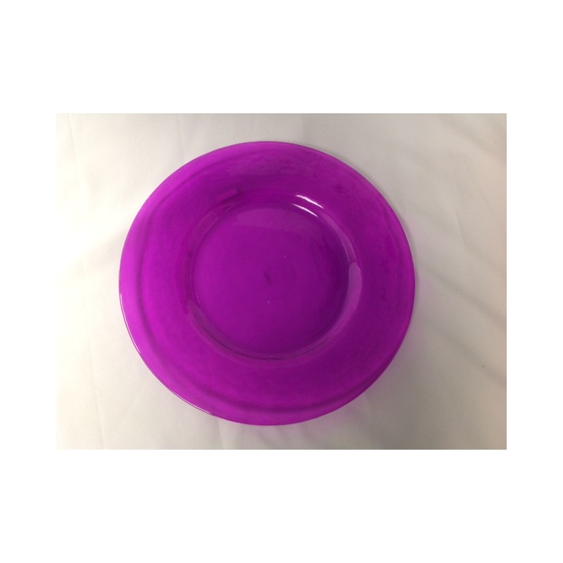 Colored Glass Dinner Plates For Sale