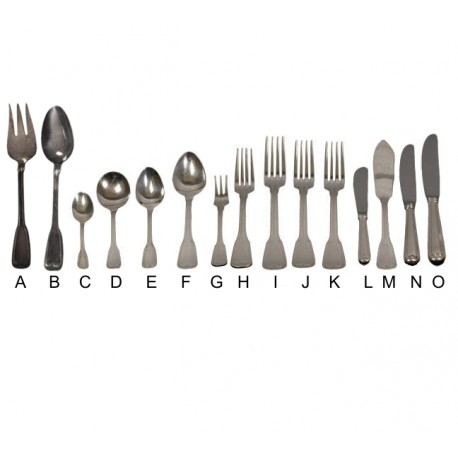 Hampshire Silver Plated Flatware (14 Pieces)