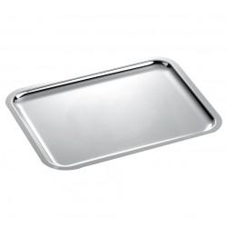 "33"" Rectangular Silver Tray"