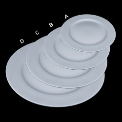 Round Ceramic Platters