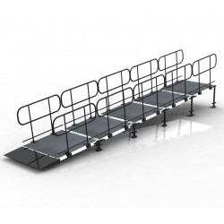 Stage Wheelchair Ramp
