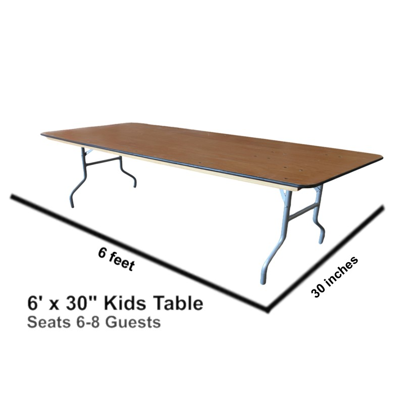 Kids Rectangular Table ...