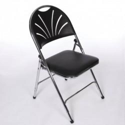 Black Comfort Back Chair